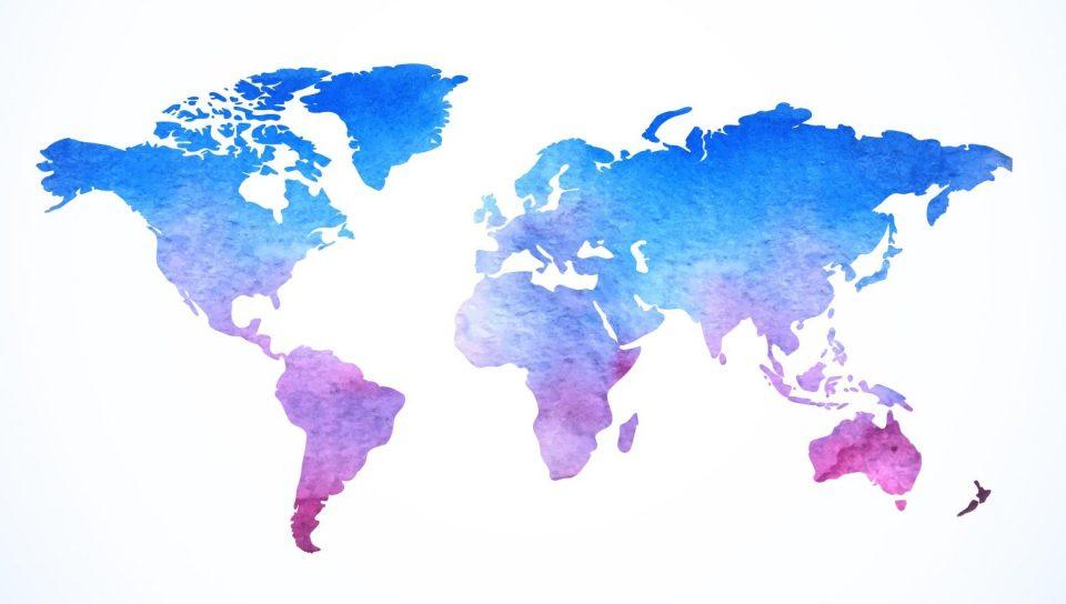 Mapa de destinos